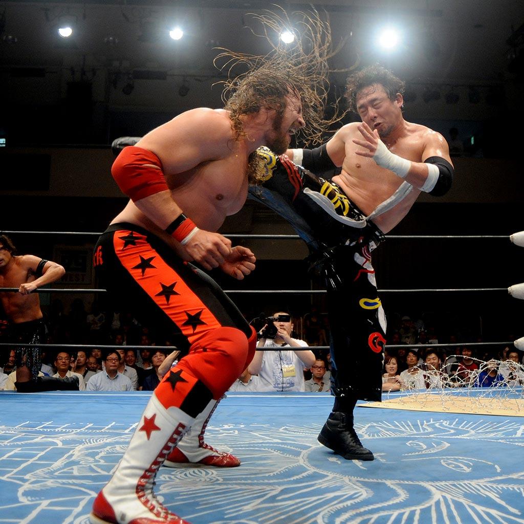Michael Majalahti The Rebel StarBuck wrestling